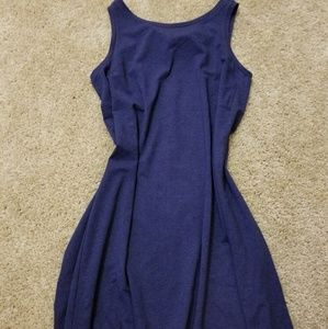 NWT- Adorable Blue LOFT Tshirt Dress
